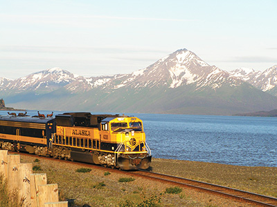 Seward by Train Day Trip