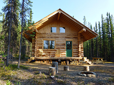Frances Lake Wilderness Cabin