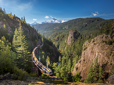 West Canada by Train
