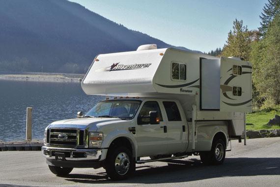 Truck Camper Tc B Bunk Bed